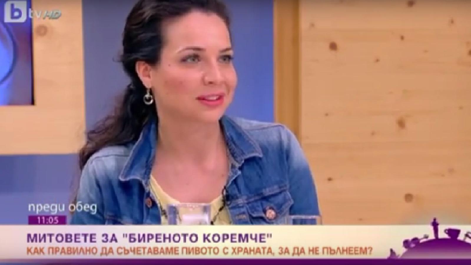 """Митовете за """"биреното коремче"""" – bTV """"Преди обед"""", 30.05.2016"""