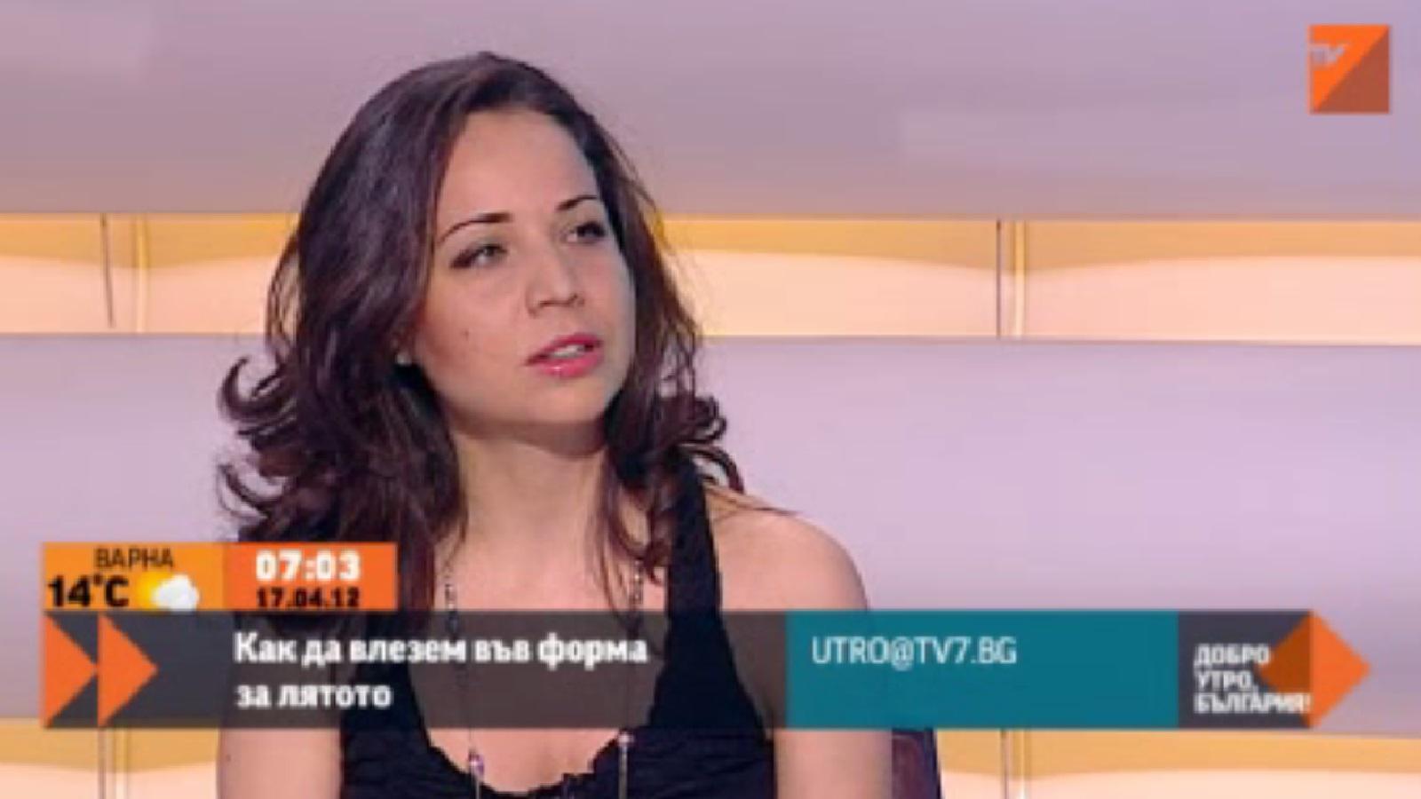 ТВ7 – 10.05.2014 г. – Как да влезем във форма за лятото.
