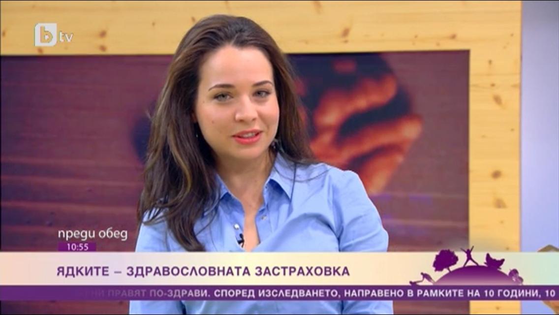 """Ядките – здравословна застраховка bTV – """"Преди обед"""", 22.06.2015"""